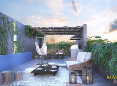 Terraza Casa Tipo 4