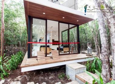 casa modular inauguración